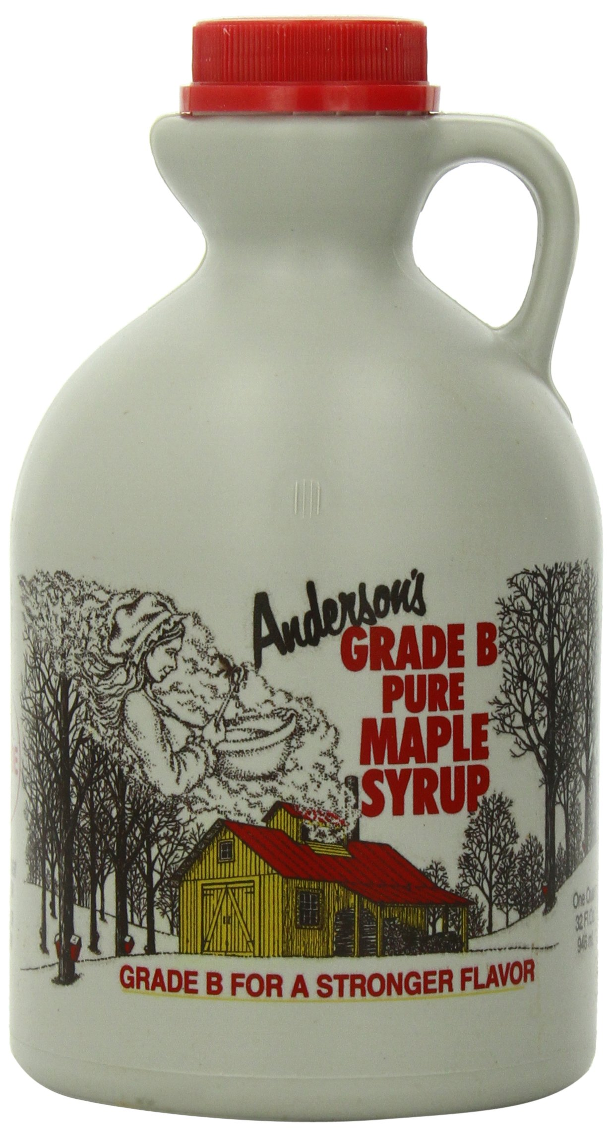Anderson's Pure Maple Syrup, Grade B, 32-Ounce by Anderson's (Image #1)