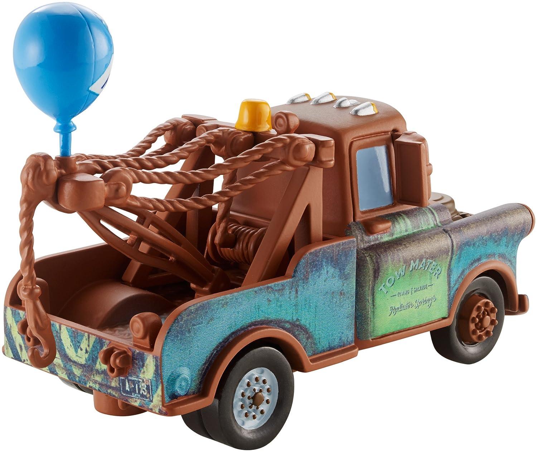 amazon com disney pixar cars mater with balloon vehicle toys games