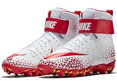1bd95f0e5cf Nike Men s Force Savage Shark Football Cleat - White University  Red-University Red -