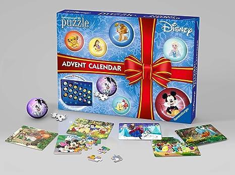 Calendario Avvento Ravensburger.Ravensburger Italy Calendario Dell Avvento Disney Classic Puzzle 3d 11676