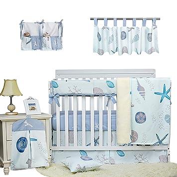Baby Boy Lamp Nursery Anchor Nautical Animals Lion Elephant Giraffe Bedroom