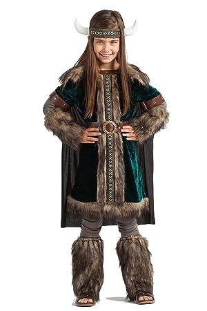 Disfraz Vikingo Green (7-9 AÑOS): Amazon.es: Juguetes y juegos