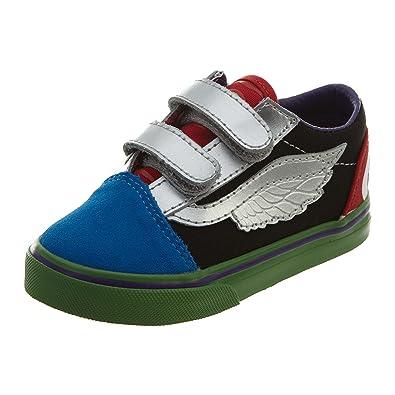 Jungen Vans Sneaker Toddler X Marvel Old Skool V Schuhe