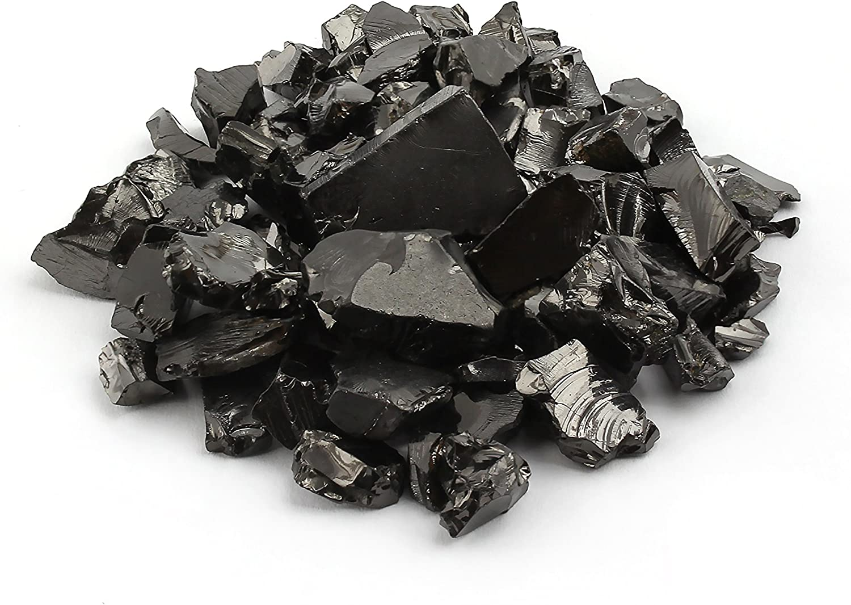 Elite shungite Piedras Sueltas Piedra Natural Chakra Cristal energía curativa Karelia Rusia