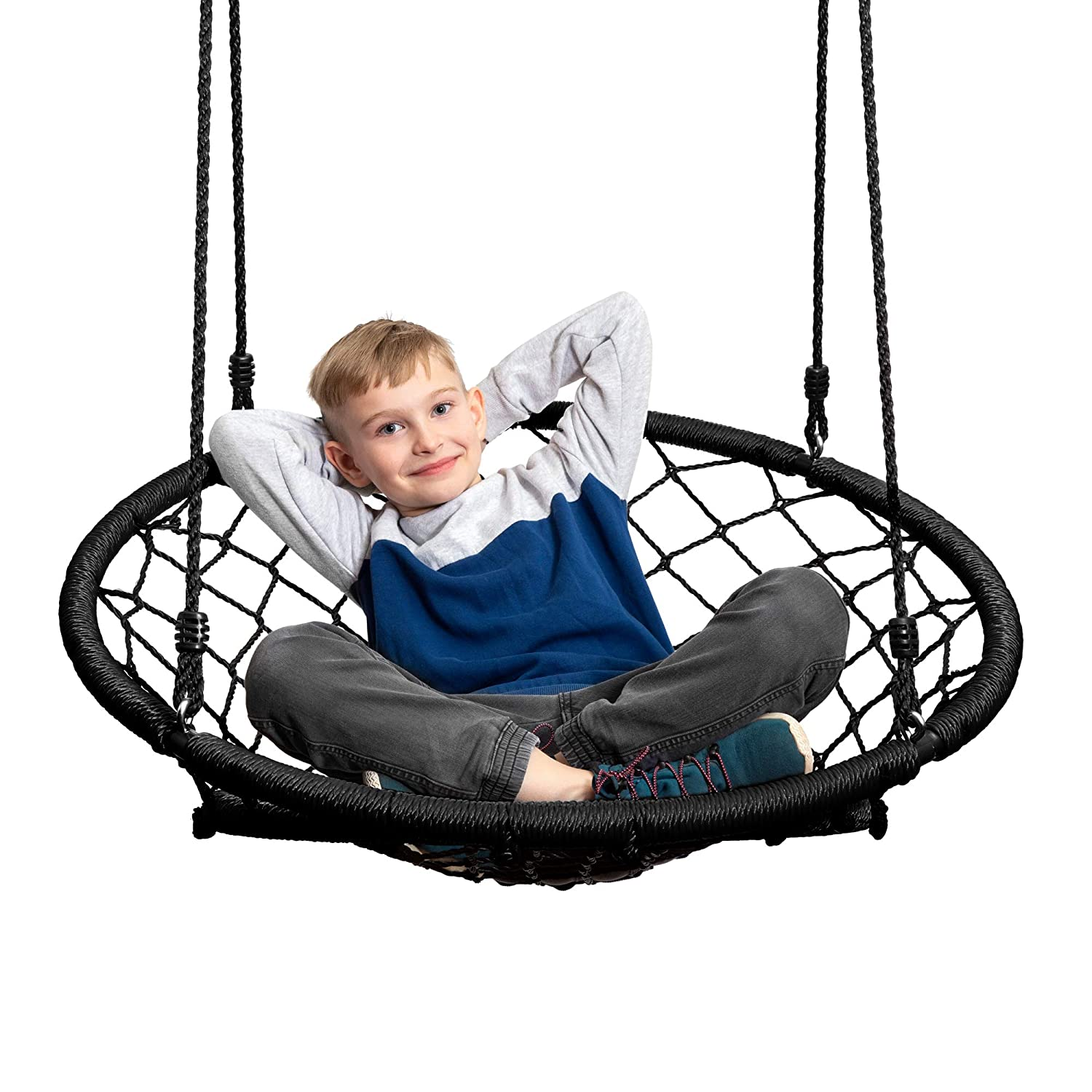 JumpOff Jo Little Jo s Web Chair Swing, Black