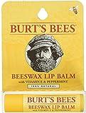 Burt's Bees Lip Balm, Beeswax Original with Vitamin E & Peppermint, 1 Tube, 4.25 Grams