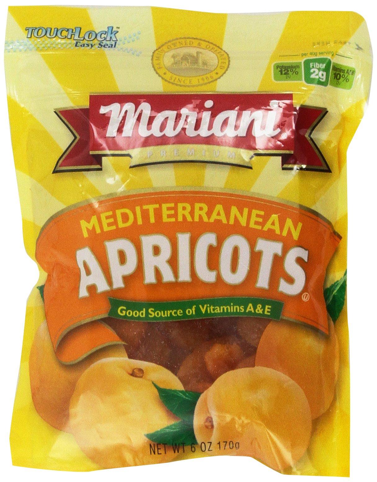 MARIANI MEDITERRANEAN APRICOTS 6oz 3pack