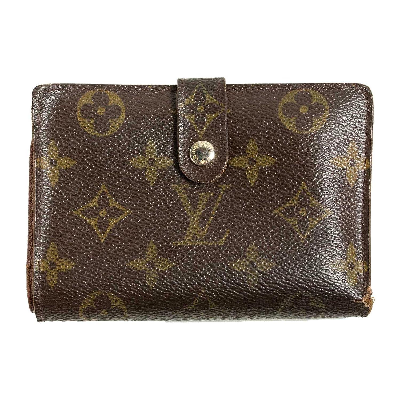 (ルイヴィトン) LOUIS VUITTON 財布 二つ折り モノグラム ヴィエノワ ブラウン M61674 B07DM9VJWB  -