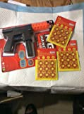 Super Cap Hand Gun with Safe Chamber with 2 Sheets of Caps 192 Total Unit