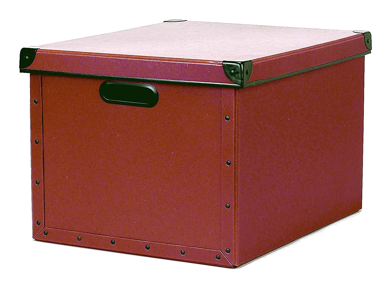 Cargo Naturals Dual Datei Box, 10–3 4 by 15–1 2 von 12–1 2 Zoll rot Spice