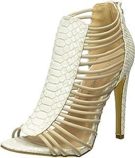 07807f3e4bd Little Mistress Women s Vesta Closed Toe Heels