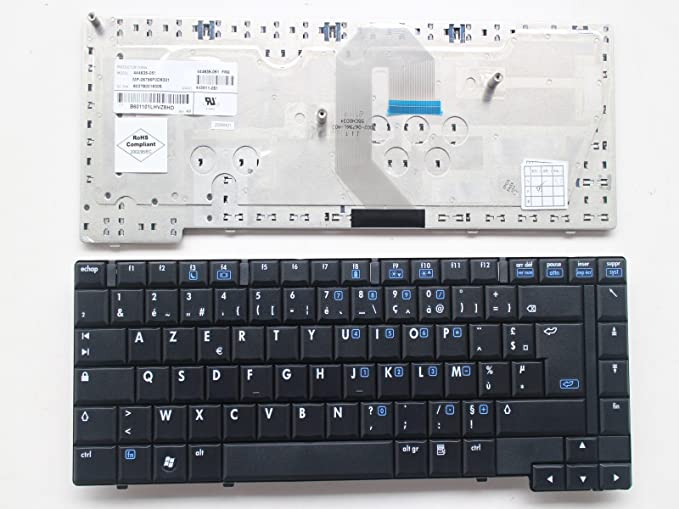 Azerty francés teclado para HP Compaq 6710b 6710s 6715b 6715s ...