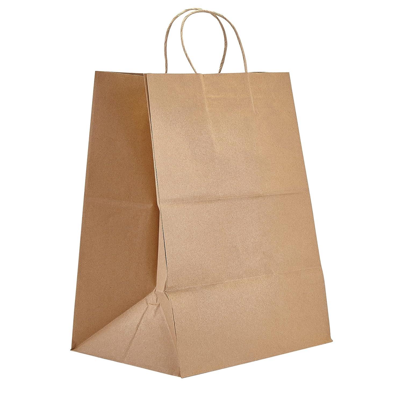Amazon.com: PTP – Bolsas de regalo de papel de estraza ...