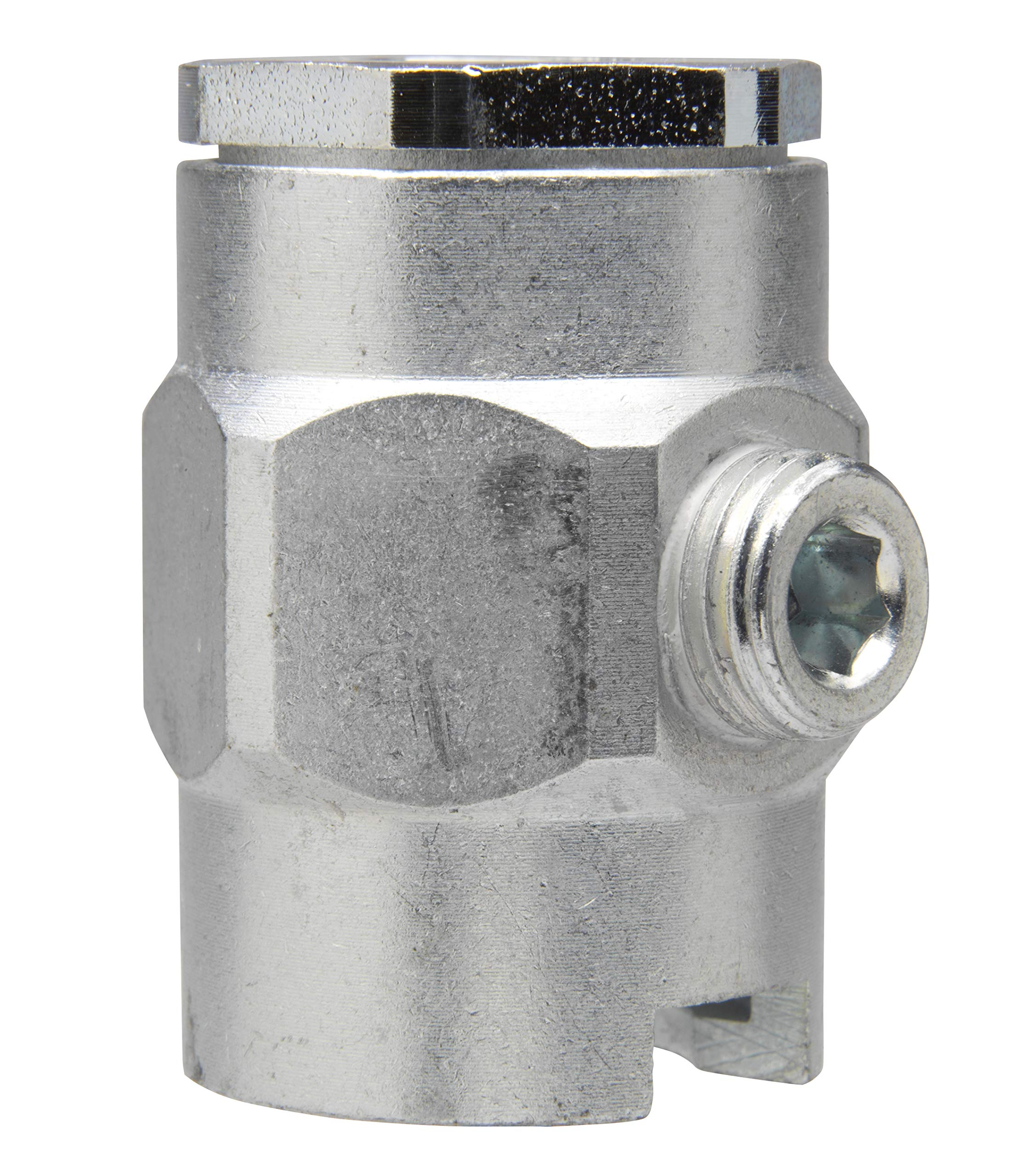 Alemite 319702 Button Head Coupler, Giant Pull-On Type, Use with Standard or Giant Button Head Fittings, 1/4'' Female PTF SAE Short