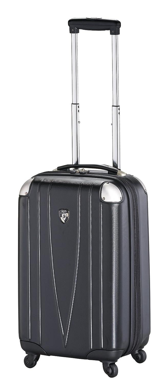 ... 50% SALE ... PREMIUM DESIGNER Hartschalen Koffer - Heys Core 4 WD Schwarz - Handgepäck