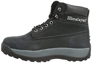 Himalayan 5140 SBP SRA Black Nubuck Iconic Steel Toe Safety Boots Work Boot PPE
