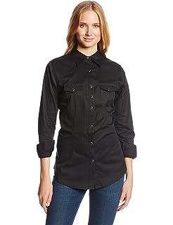 3197e9e25c Wrangler Women s Long Sleeve Western Snap Work Shirt at Amazon ...