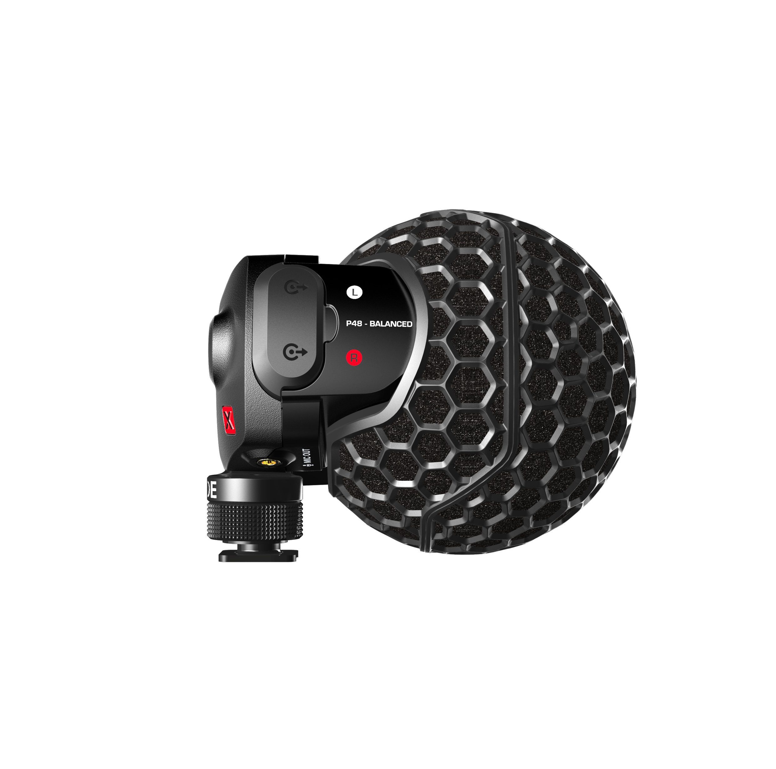 Rode SVMX Stereo Videomic X Broadcast-grade Stereo On-Camera Microphone, Cardiod