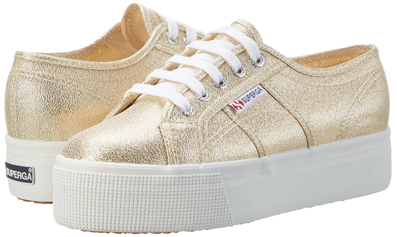 Superga Damen 2790 2790 2790 Lamew Sneaker Gold d7bf26