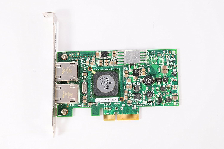 Lot of 5 Dell F169G Broadcom 5709 Dual Port Gigabit PCI-E Network Interface