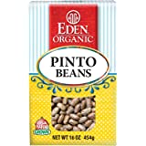 Eden Organic Pinto Beans, 16-Ounce Boxes (Pack of 6)