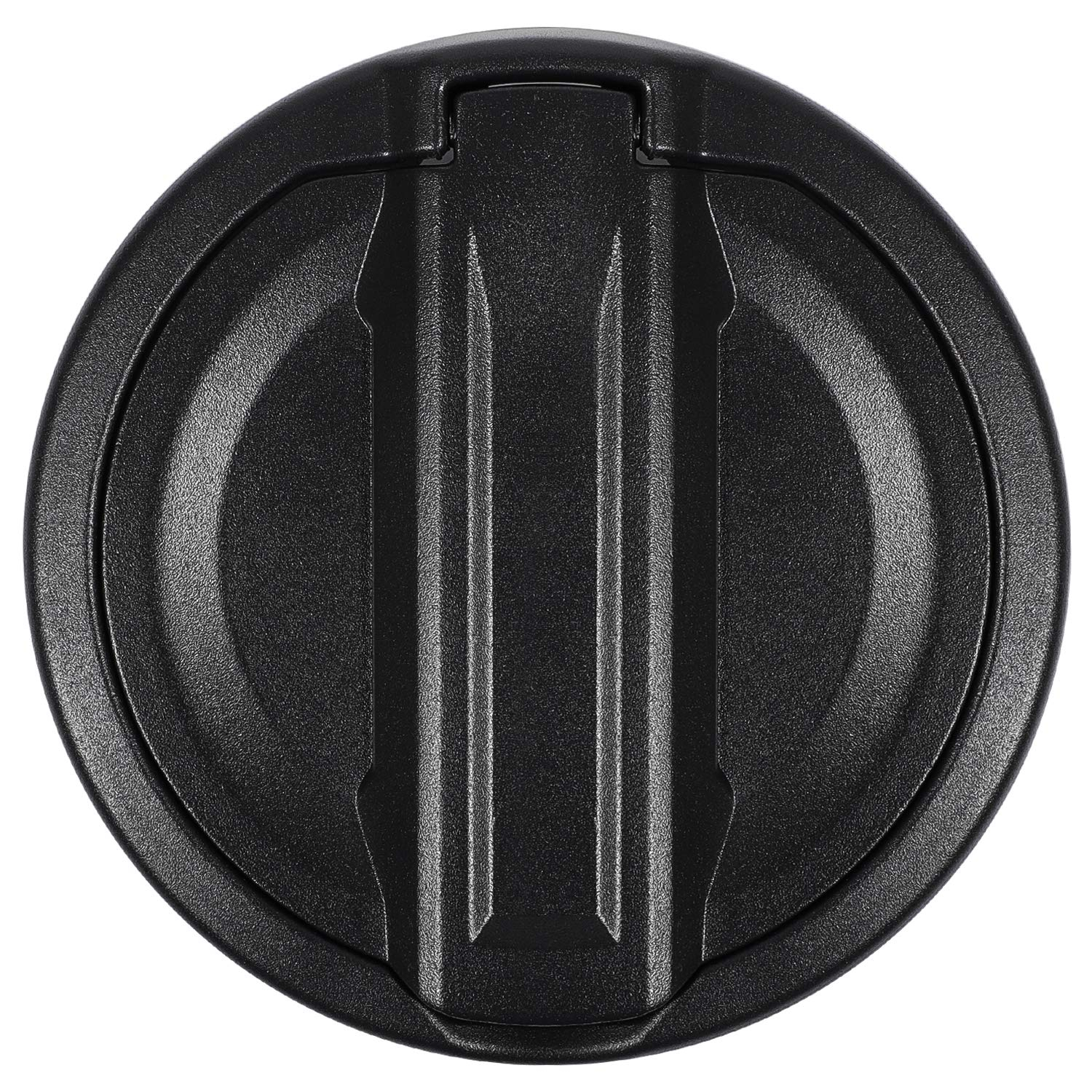 Gas Tank Cap Cover Aluminum Fuel Tank Cover Fuel Filler Door Cover for Jeep Wrangler 2018 2019 JL JLU