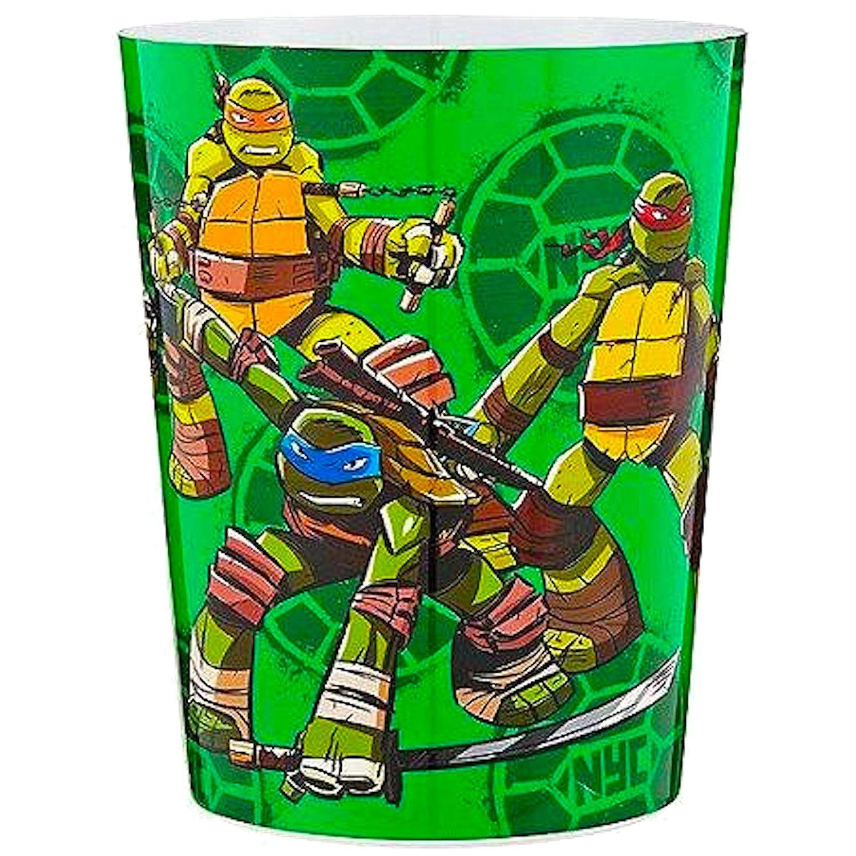 Ninja Turtle Bathroom Accessories Shower Curtain Towels Waste Basket Pictures