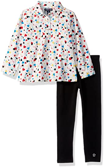 58c517584b6b4f Limited Too Girls' Toddler Fashion Top and Legging Set (More Styles  Available),
