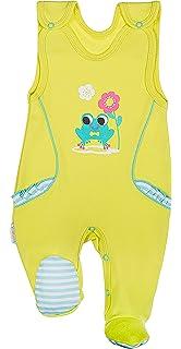 e5b9f9461c Be Mammy Pelele Pijama Ropa Bebé Niño BEEK0017 (Menta Rayas
