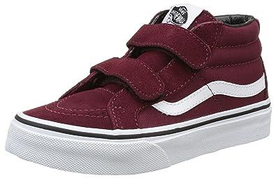 Vans Kids Sk8 Mid Reissue V (Canvas & Suede) Port Skate Shoe 10.5