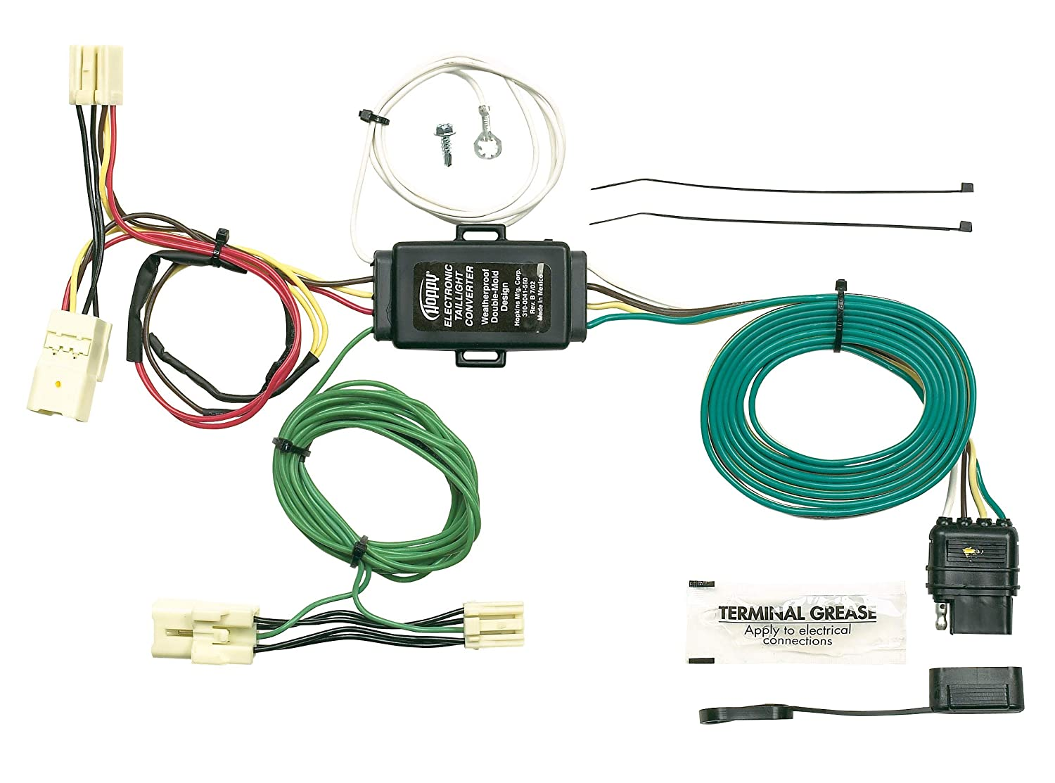 Fine Amazon Com Hopkins 43945 Plug In Simple Vehicle To Trailer Wiring Wiring 101 Cranwise Assnl