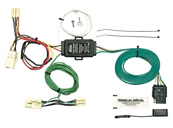 hopkins 43945 plug in simple vehicle to trailer wiring kit  2012 kia sedona trailer tow wiring harness #7