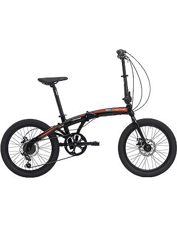 Bicicletta Pieghevole Kawasaki Folding Bike Alluminio.Bici Pieghevoli Sport E Tempo Libero Amazon It