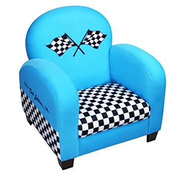 Astounding Newco Kids Racing Car Chair Blue Creativecarmelina Interior Chair Design Creativecarmelinacom