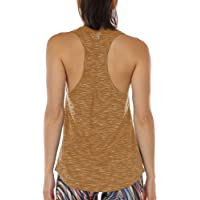 icyzone Camiseta sin Mangas de Yoga para Mujer Chaleco Deportivo