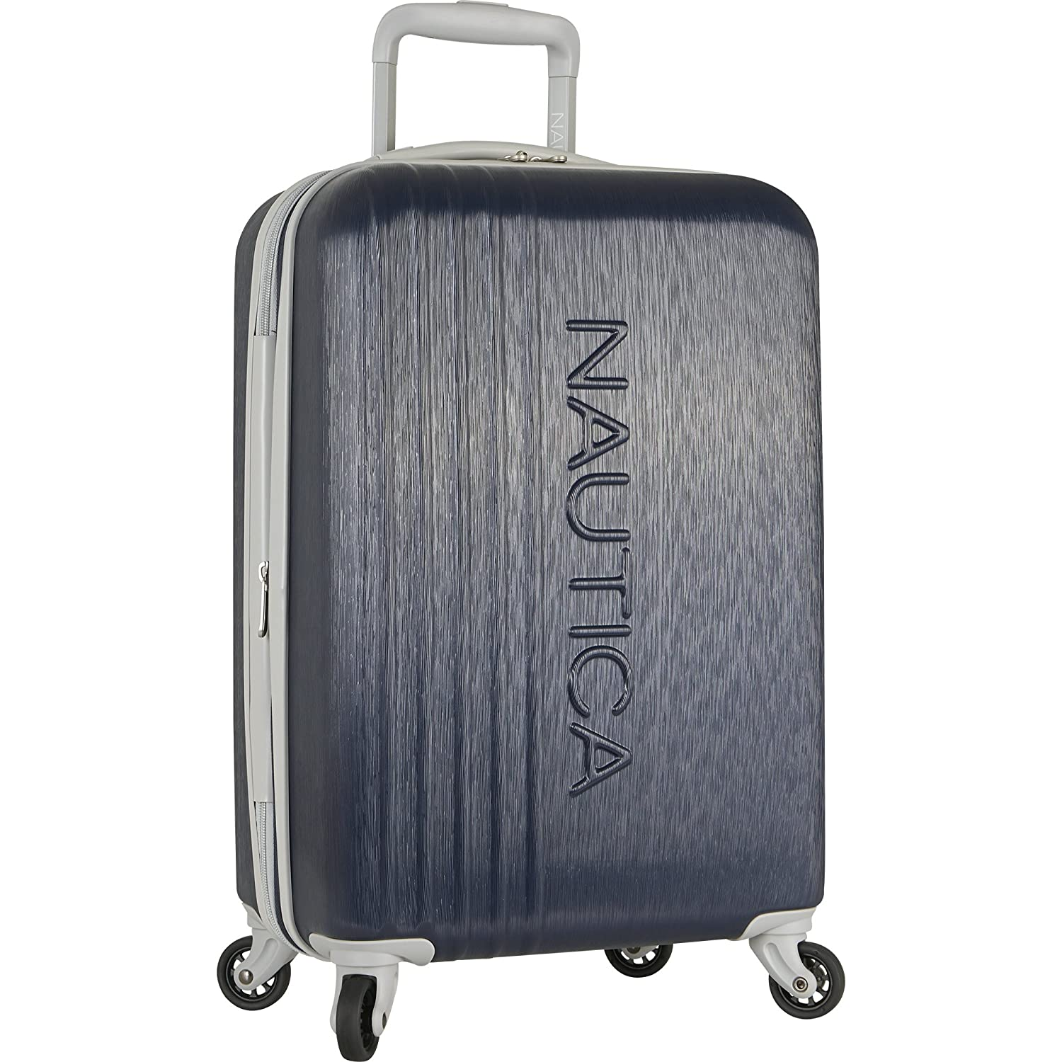 031a0cdafd5d Nautica Hardside Carry On Luggage - 20 Inch Spinner Wheels Suitcase  Lightweight Rolling Travel Bag for Under Seat