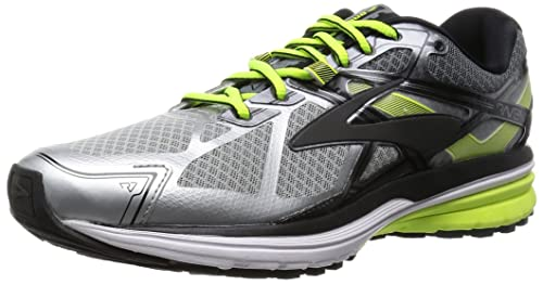 Brooks-1D-Rávena 7-110217 116 Trail Running para Hombre, Plateado (Argent (Silver/Nightlife/Black 116)), 40: Amazon.es: Zapatos y complementos