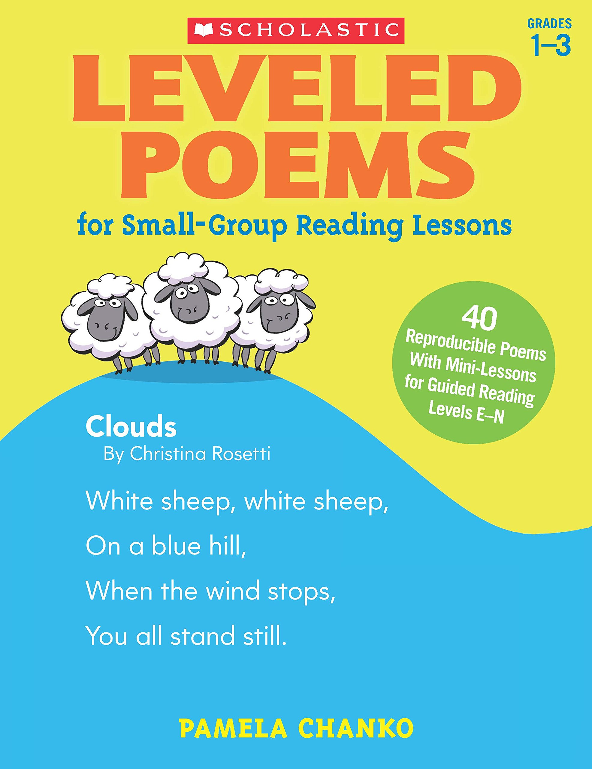 Amazon.com: Leveled Poems for Small-Group Reading Lessons: 40 ...