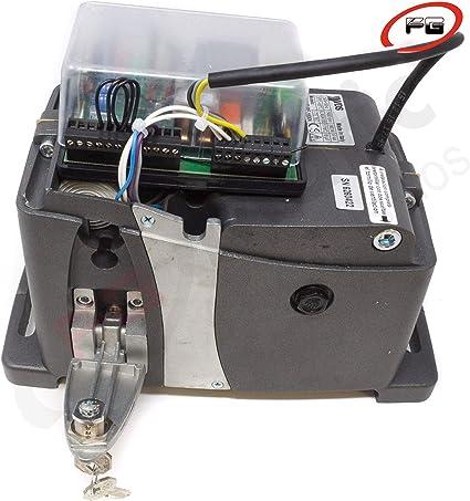 Kit motor puerta corredera VDS AG FUTURE 1600 Kg para automatizar cancela o puerta de garaje corredera de uso residencial intensivo con dos mandos Rolling code 433 Mhz.: Amazon.es: Bricolaje y herramientas