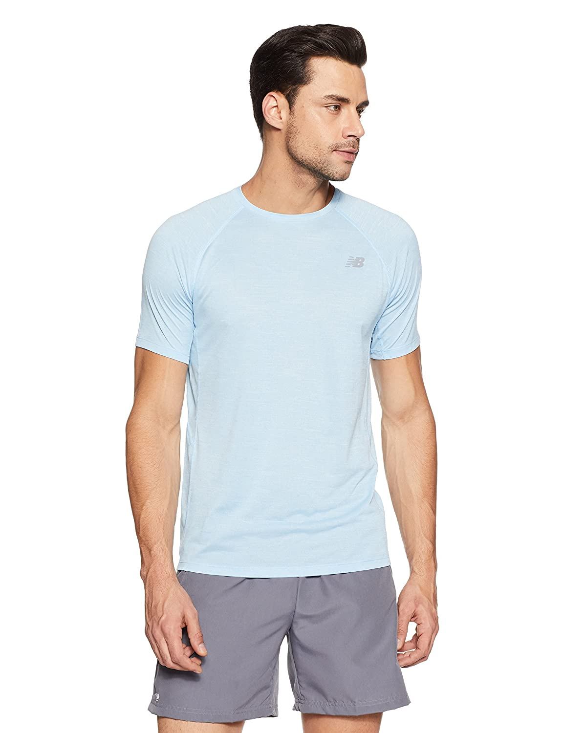 New Balance Herren Tenacity Short Sleeve T-Shirt