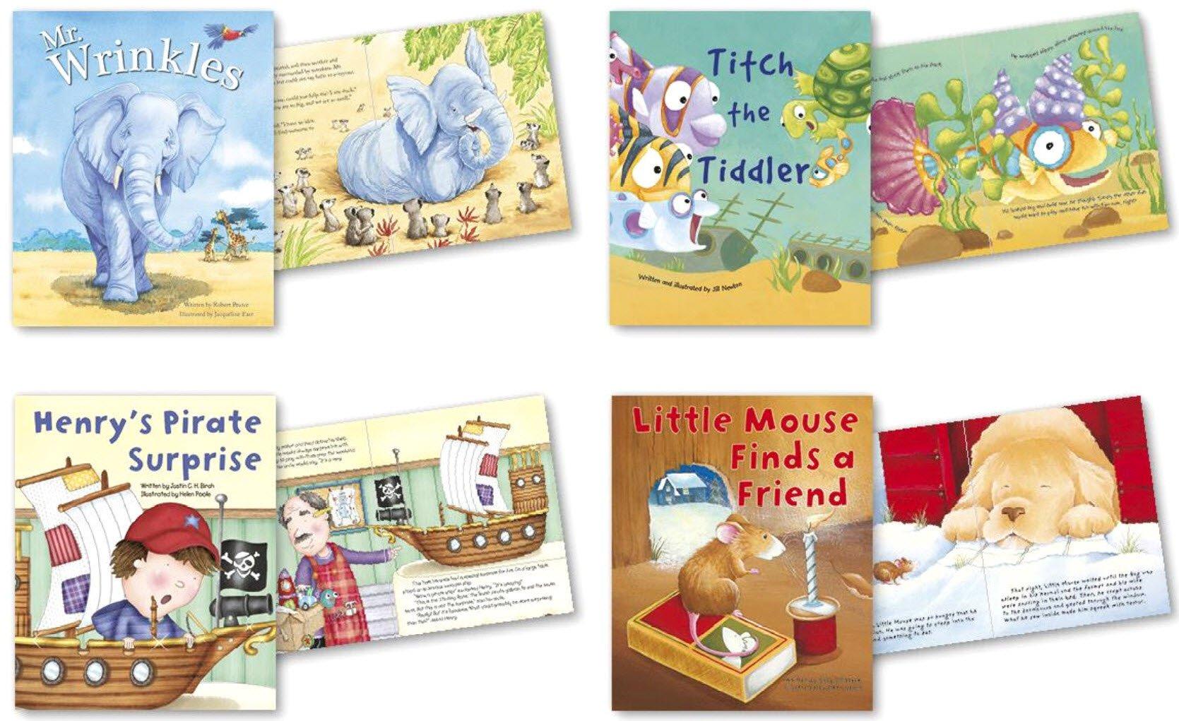 Children Story Books Picture reading books For Kids Set of 4 Books pdf