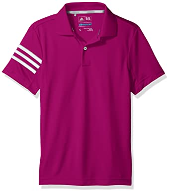 adidas Golf niños Climacool 3 Stripes Polo: Amazon.es: Ropa y ...