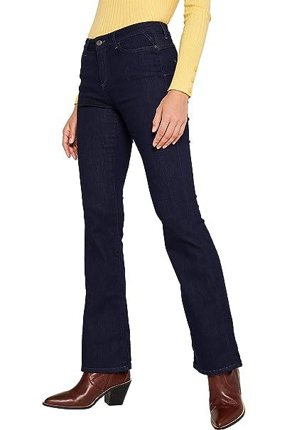 ESPRIT Jeans Bootcut Donna: Amazon.it: Abbigliamento