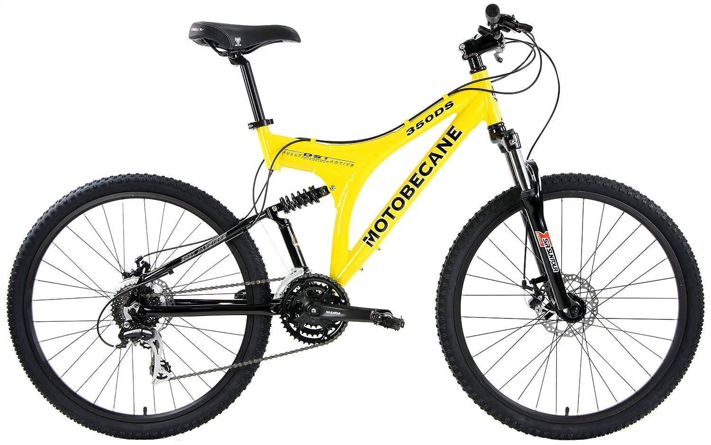 Motobecane 2018 350 DS Dual Full Suspensión Bicicleta de montaña ...
