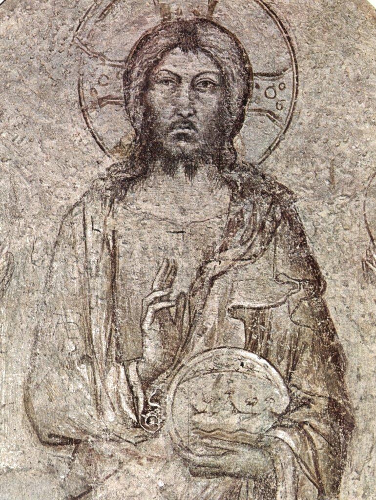 Lais Puzzle Simone Martini - - - Fresken im Avignon, Christus Pantokrator mit Engeln, Fragment 2000 Teile 0799d9