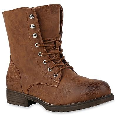 Aktuelle Damen Stiefel Schuhe Gefutterte 1093 6 Wildleder Boots Braun 37