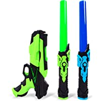 Extendable Light Swords and Space Blaster Set - 3PK