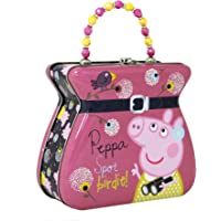 The Tin Box Company Peppa Pig Purse Tin Carry All, Pink
