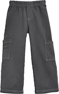 product image for City Threads Boys Fleece Cargo Pants Perfect for School and Outdoor Play Made in USA