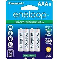 Deals on 8-Pk Panasonic Eneloop AAA 2100 Cycle Ni-MH Rechargeable Batteries